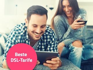 Finden Sie das beste Rundum-Paket fürs Internet zu Hause - DSL-Tarife